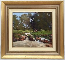 Brian Cook landscape oil painting, Gold Coast Queensland, Australian artist