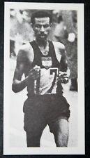Bikila Etiopía maratón Runner Foto Tarjeta # en muy buena condición