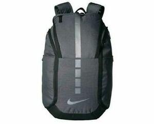 Nike Hoops Elite Backpack Grey Black BA5990-022 School Basketball School Laptop