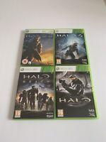 Halo Bundle - 3 + 4 + Reach + Combat Evolved Anniversary - Xbox 360 - Free P+P
