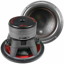 "Audiopipe 12"" Quad Stack, 2200 W Subwoofer Composite Cone 1100 W Rms Dual 4 OHM"