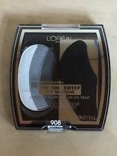 3 PACK L'Oreal Studio Secrets The One Sweep Eye Shadow #908 Smoky For All Eyes