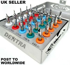 New Conical Drills with Stoppers Dental Implant Kit 25 Pcs Surgical Tools
