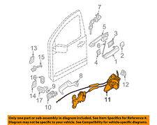 NISSAN OEM 2004 Pathfinder Armada Front Door-Lock Actuator Motor 805007S01A