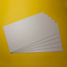 5 Polystyrol Platten Platte weiss 320x200x1mm PS Platten weiß Modellbau