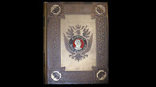 1897 Germany's Iron Chancellor by Bruno Garlepp Leather Cover Massive Book