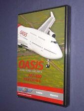 JUST PLANES COCKPIT VIDEO DVD  :     OASIS HONG KONG  747-400   Training Flight