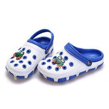 Girls Boys EVA Garden Summer Cool Style Beach Slippers Sandals Flip Flops Shoes