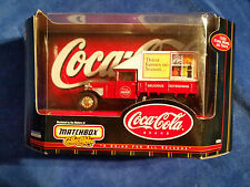 """1999 - 1:43 COCA COLA 1932 Ford Model AA Truck """"MATCHBOX"""" COLLECTIBLES"""