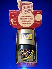 Vintage Perma Power T-101 Color TV Picture Tube Color Gun Killer/Adjuster NOS