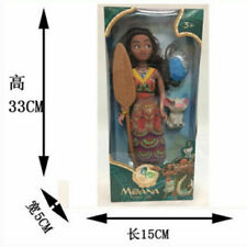 Movie Disney Princess Moana Singing Maui Action Figures Doll Kids Figurines Toy