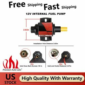 Micro Electric 12V Fuel Transfer Pump #42S 2.5-4psi 28-GPH-Gasoline Fuel Pump US