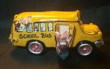 Authentic Blue Sky Clayworks School Bus La-009 2000 (Ab1)