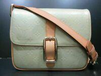 Authentic LOUIS VUITTON Vernis Christie GM M91148 Shoulder Bag Good 85463