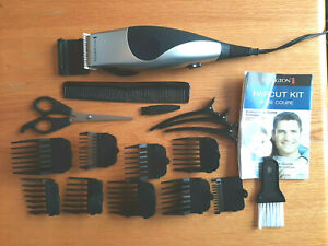 Remington Haircut Kit HC2000 with Instructions and plastic case Like New