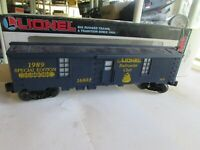 Lionel 6-16802 1989 Railroad Club Tool Car in original box