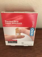 AEROPLAST  Standard Strip FABRIC BANDAGES wound protection 50pack