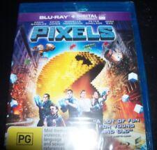 Pixels (Adam Sandler Kevin James) (Australia Region B) Bluray – NEW