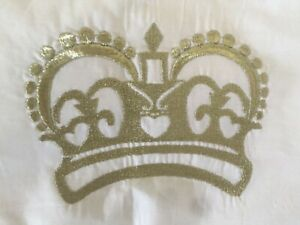 Pottery Barn Kids Crown Decorative Pillow Sham 12 X 16 Inches NLA