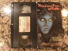 They Came From Within Vhs! 1975 Sci-Fi Cult Horror! See) The Fly & Rabid