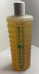 Vintage Avon Bubble Bath NOS Tropical Coconut 24 ounces New Old Stock
