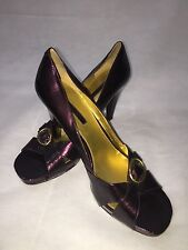 Bandolino Quartez Women Size 11M  Open Toe Heels Blemish  1240
