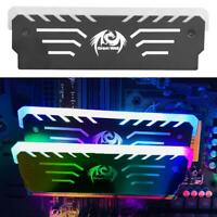 Desktop Memory Cooling Clip RGB Light 6 Automatic Change RAM Cooling Vest