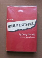 NINETEEN EIGHTY-FOUR by George Orwell - 1st edition stated - HCDJ 1949 - $3.00