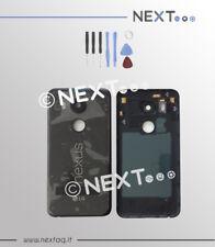 BACK COVER SCOCCA POSTERIORE LG NEXUS 5X H791 NERO+ kit riparazione
