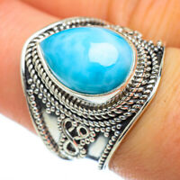 Larimar 925 Sterling Silver Ring Size 8 Ana Co Jewelry R47921F