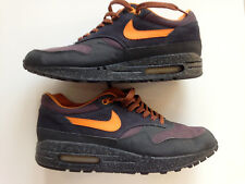 2002 NIKE AIR MAX 1 B STORM Co.JP CHARCOAL TENNESSEE ORANGE ABYSS PURPLE UK8 US9