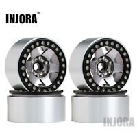 "Metal 1.9"" Wheels for 1/10 RC Axial SCX10 90046 AXI03007 Traxxas TRX4 RedCat MST"