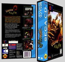 Corpse Killer - Sega CD Reproduction Art DVD Case No Game