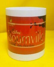 CADBURY Bournville Dark Chocolate Wrapper -ADVERT-ON AN 11oz WHITE MUG