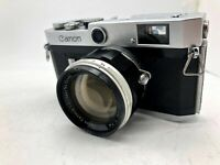 【As-is】Canon P Rangefinder Film Camera 50mm f1.4 L39 Leica Screw Lens From JAPAN