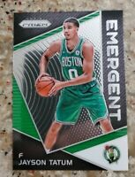 🔥2017-18 JAYSON TATUM PANINI PRIZM EMERGENT ROOKIE RC Boston Celtics🔥