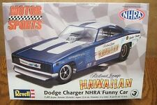 REVELL DODGE CHARGER NHRA FUNNY CAR HAWAIIAN 1/25 SCALE MODEL KIT