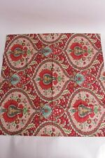 New Pottery Barn Darcy printed patterned euro sham red