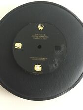 Rolex factory black onyx and diamond dial for Datejust watch damaged for parts
