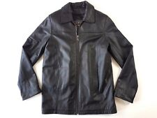 Leather Limited Black Leather Coat Women Small Zip Up Jacket Thermolite