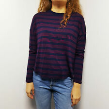Sale Forever 21 New Woman Light Knit Top Long Sleeve Sweater S 8 10 UK