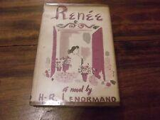Renee by H. R. Lenormand (1951, Hardback)