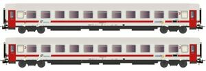 """Rivarossi HR4284 Set 2 Z1 Ex 2a CL Compartments """" Ic Day"""" FS"""