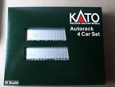 Kato N Scale Auto Rack 4 Car Set - Canadian National