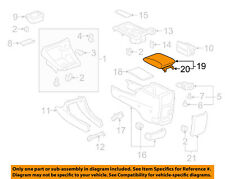 Genuine Toyota 58905-AA010-E0 Console Compartment Door Assembly