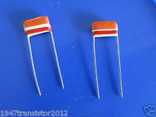 Mullard Tropical Fish Capacitors RADIAL .033uF, 33nF, 33000pF, 10%, 250v, (2pcs)