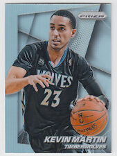 KEVIN MARTIN 2014-15 Panini Prizm Basketball Base Prizm Card #116 Timberwolves
