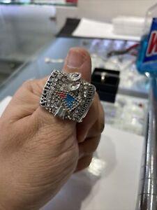 2004 New England Patriots Super Bowl Replica / Fan Championship Ring - Brady