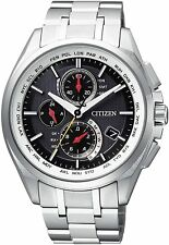 CITIZEN ATTESA AT8040-57F Eco-Drive Direct Flight Men's Watch New in Box