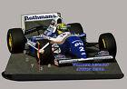 VETTURA F1, AYRTON SENNA, F1 WILLIAMS RENAULT -01, AUTO IN OROLOGIO MINIATURA